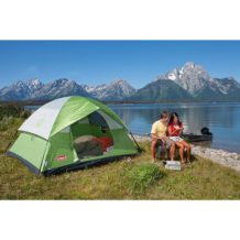 4 person Coleman tent